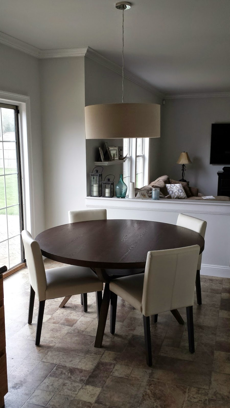 West Elm kitchen table, chairs and light fixture | The ...