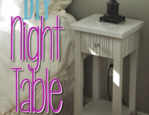 DIY Night Table