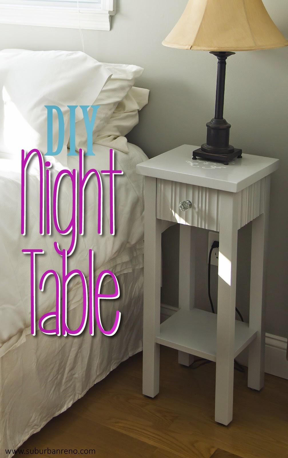 DIY Night Table