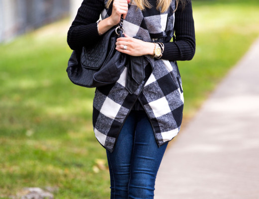 perfect plaid jacket for fall