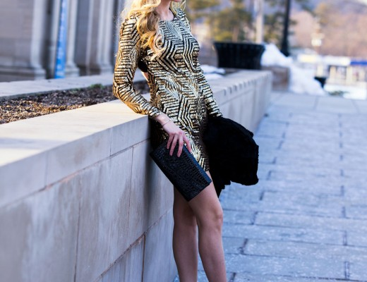 Fashion Junkee sequin dress