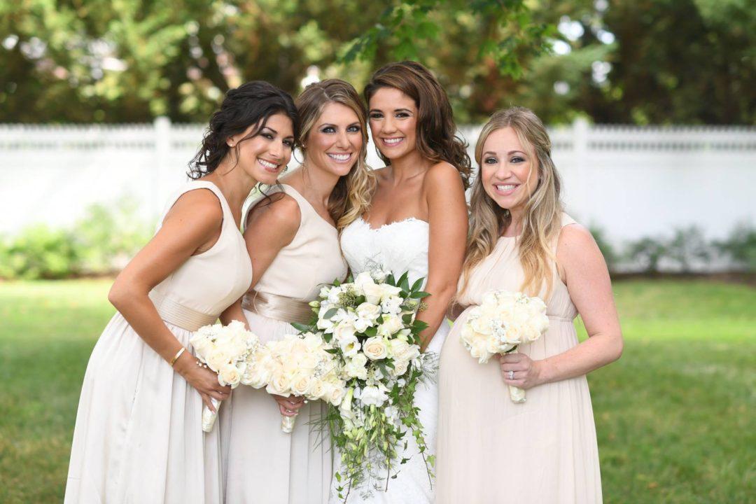 Champagne Vera Bridesmaid Dresses