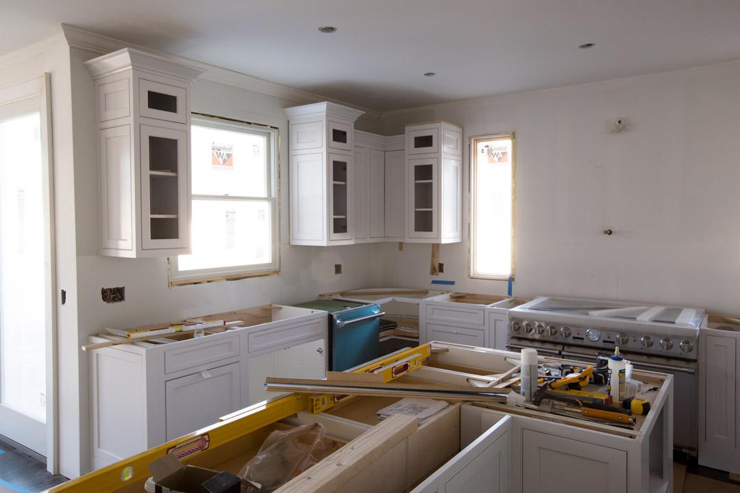 White Kitchen, Omega Cabinets