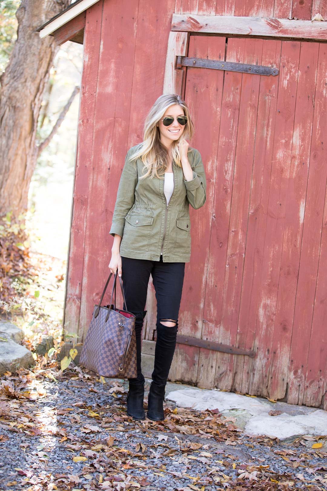 casual fall outfit, perfect for an outdoor day