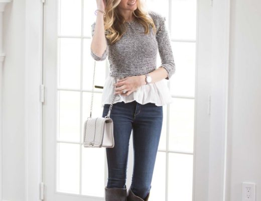 casual neutral gray outfit