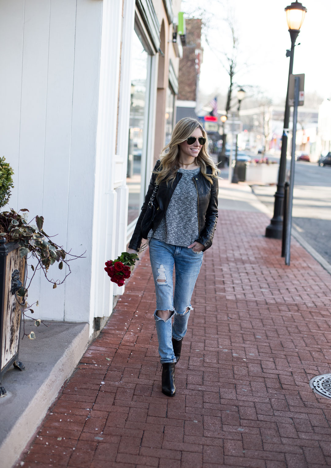 edgy street style look