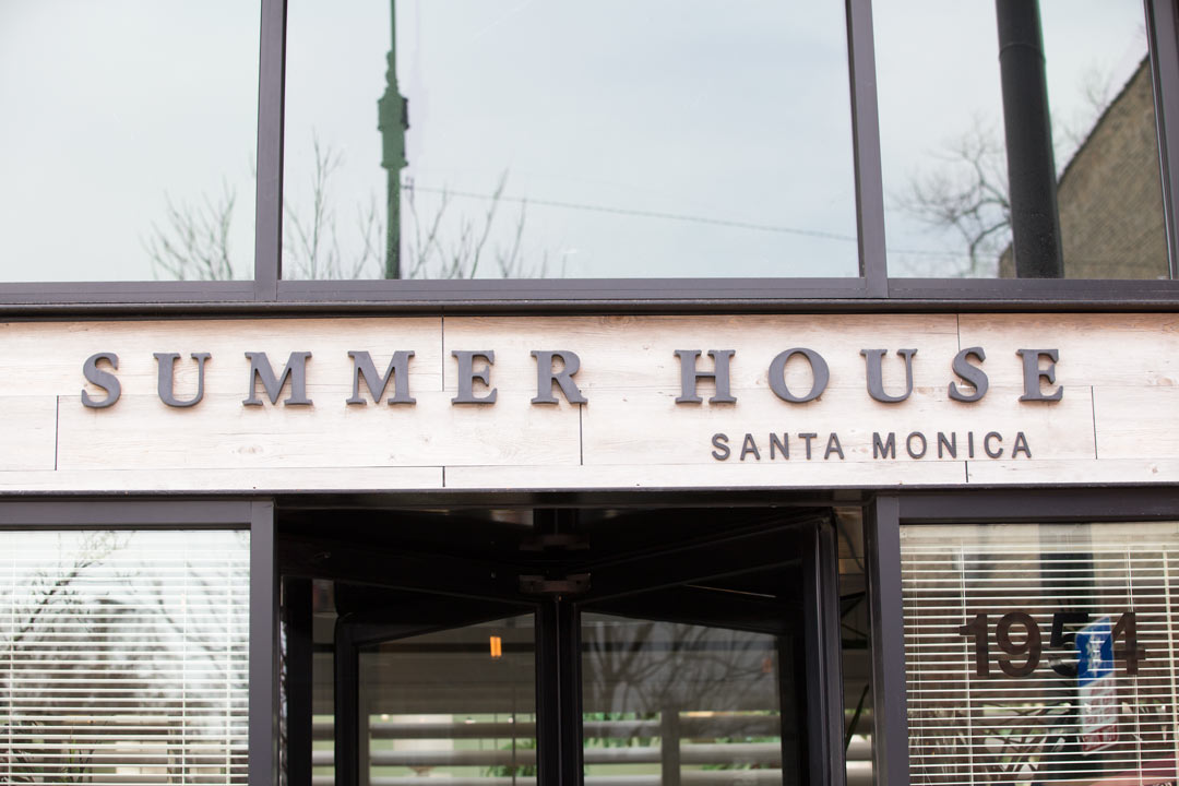 Summer House Santa Monica blog worthy brunch location