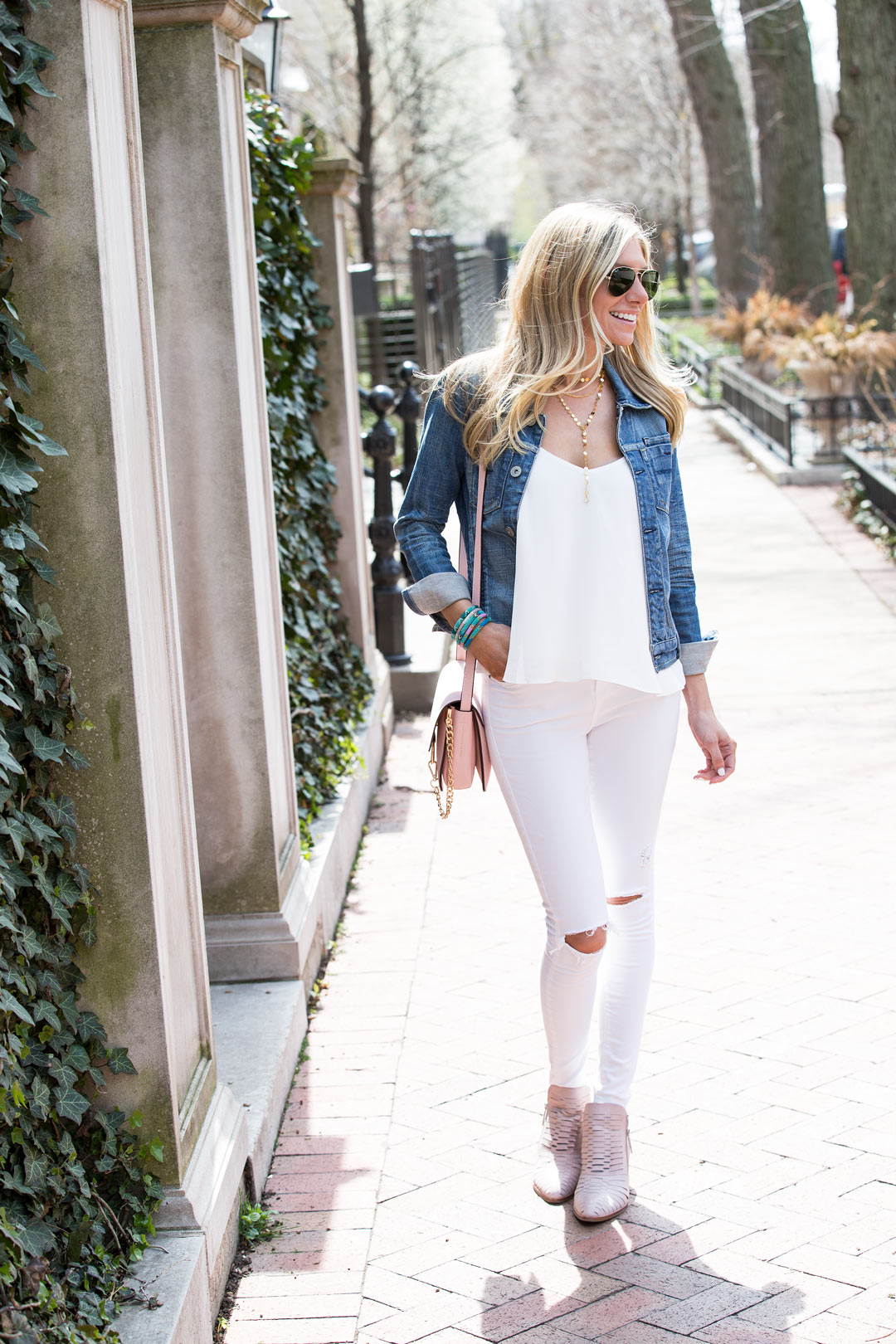 casual spring or summer look