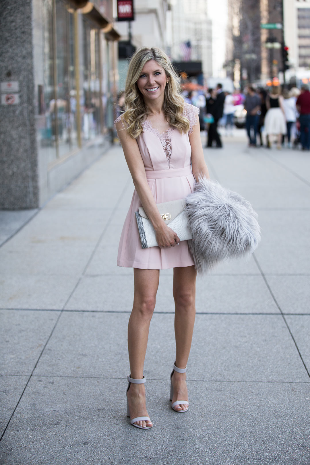 the perfect wedding guest dress for the spring or summer