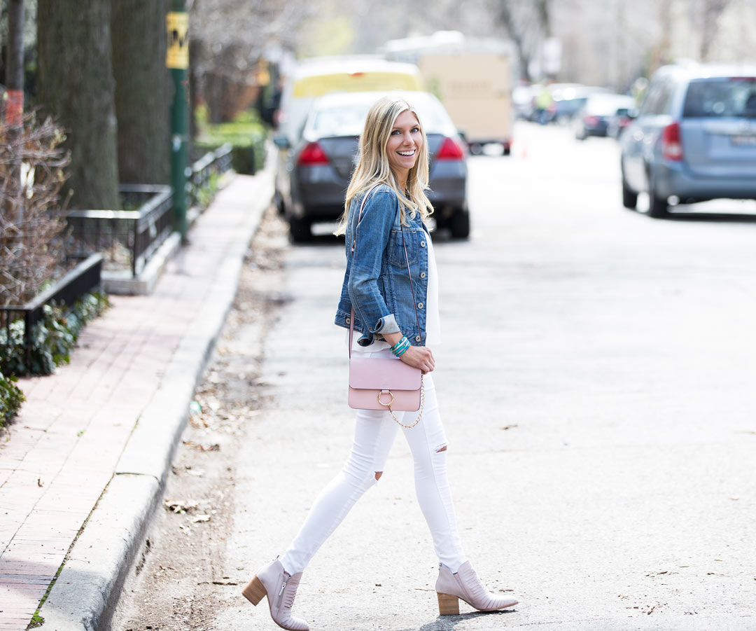 casual spring day outfit perfect for brunch