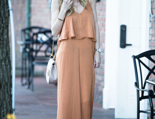 Another Level Tiered Wide Leg Jumpsuit under $50 from Tobi