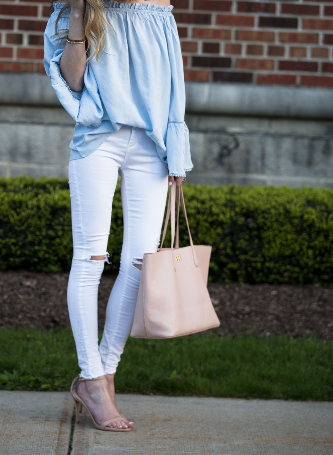 the perfect casual outfit for spring