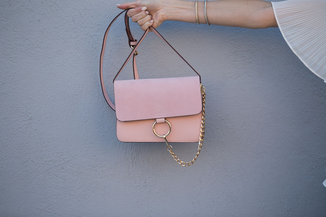 Anja Suede Bag from Goodnight Macaroon