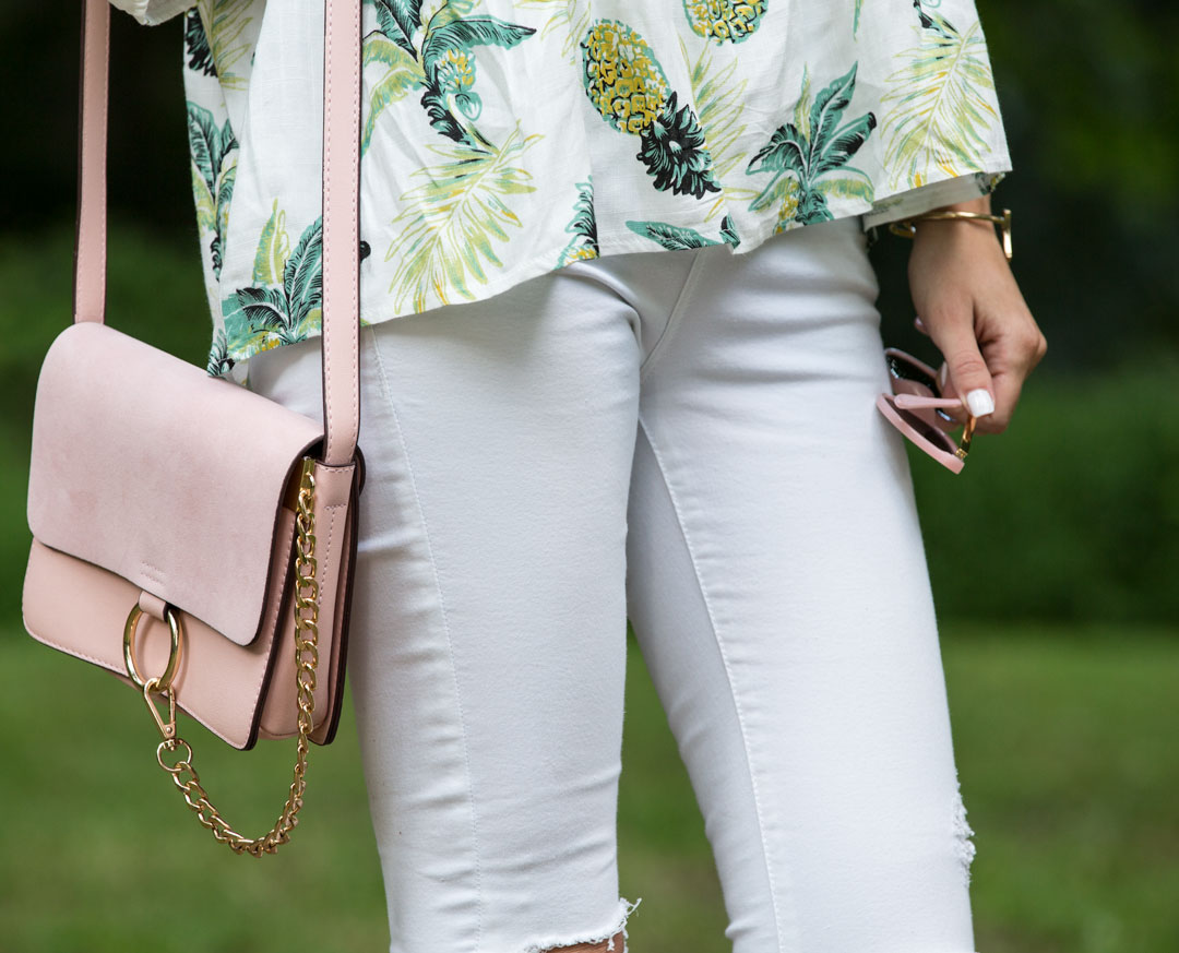 blush suede bag perfect accessory for summer