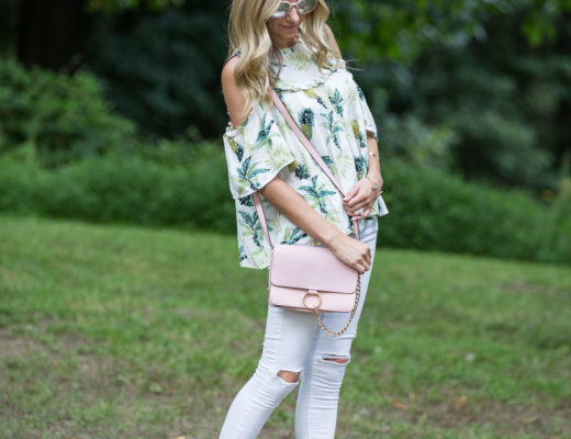 the perfect cross-body bag for summer