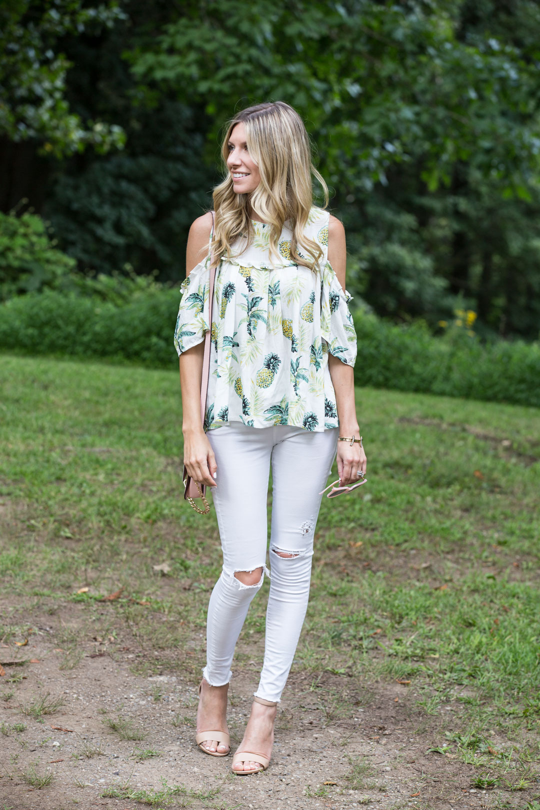 fun and flirty outfit for a summer day