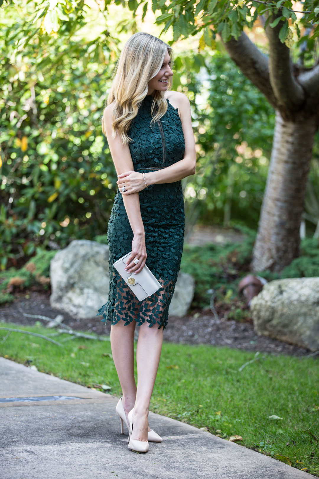 The perfect formal fall wedding outfit