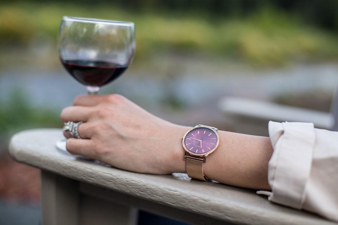 pink timex watch