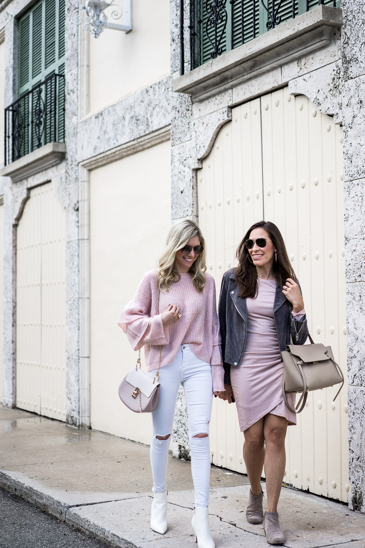 blogger besties in Miami