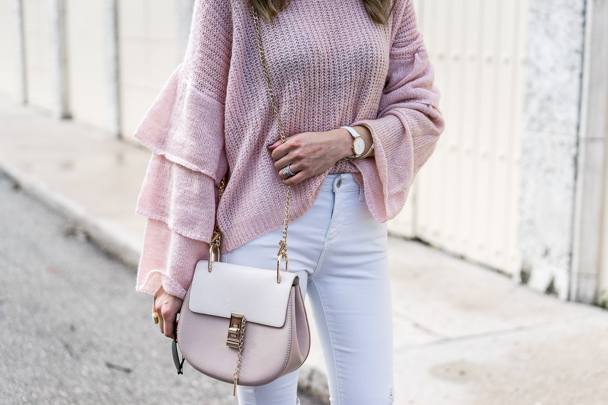 blush and neutral details for fall
