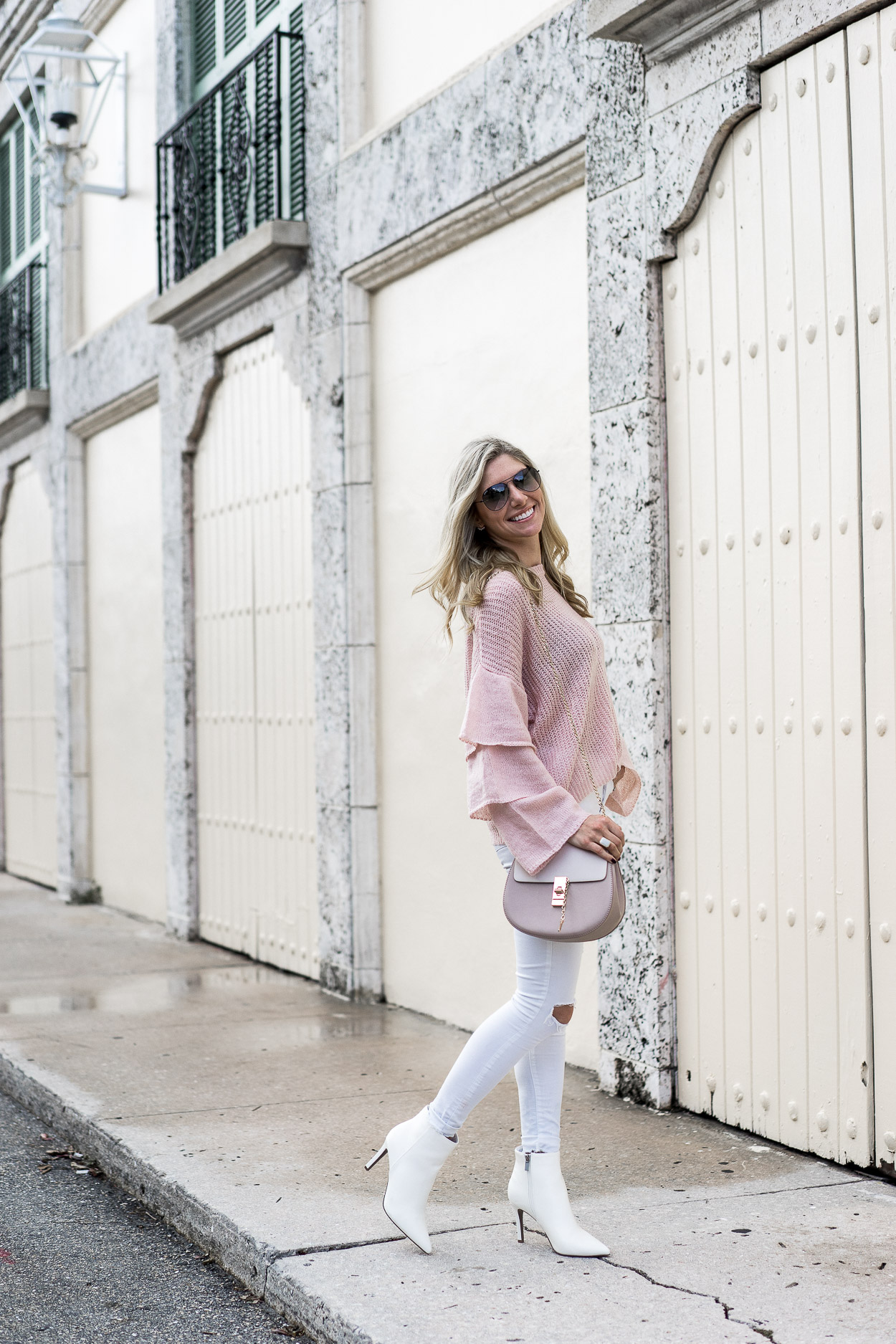 the perfect white booties under $30