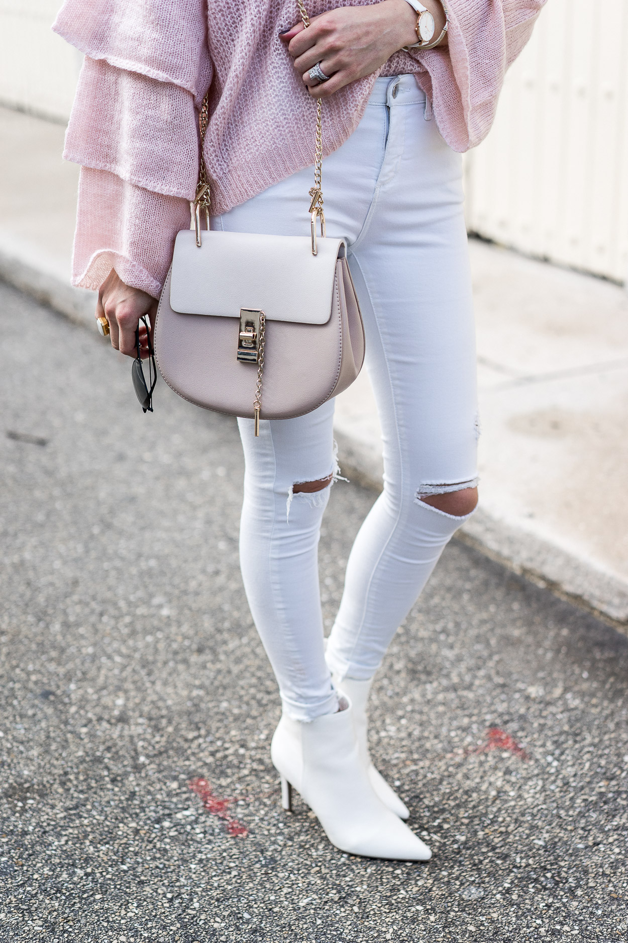 perfect fall transition outfit