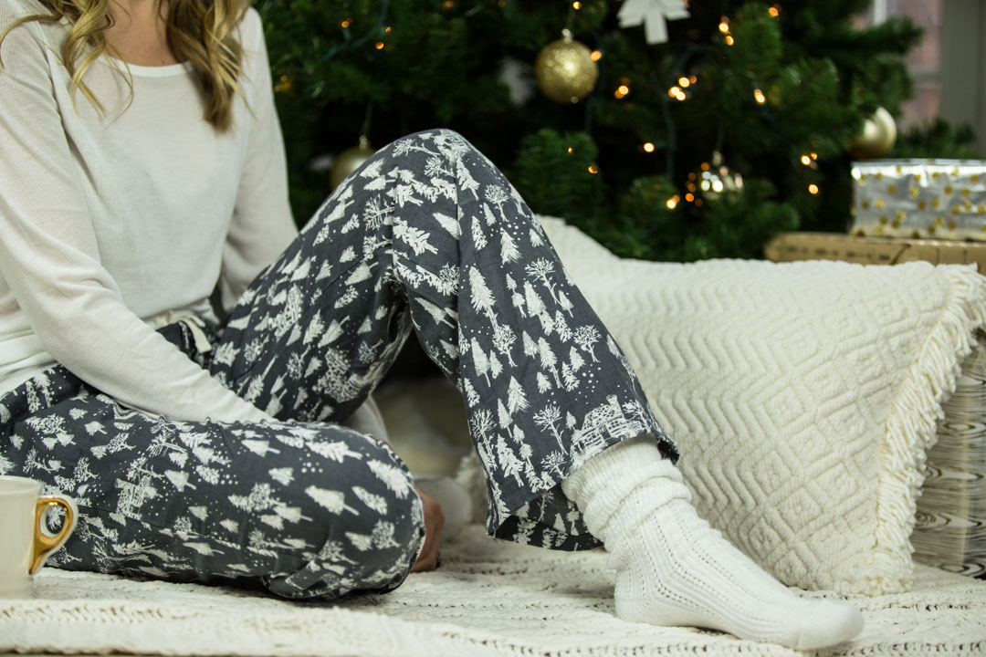 Christmas Home Decor and Pajamas