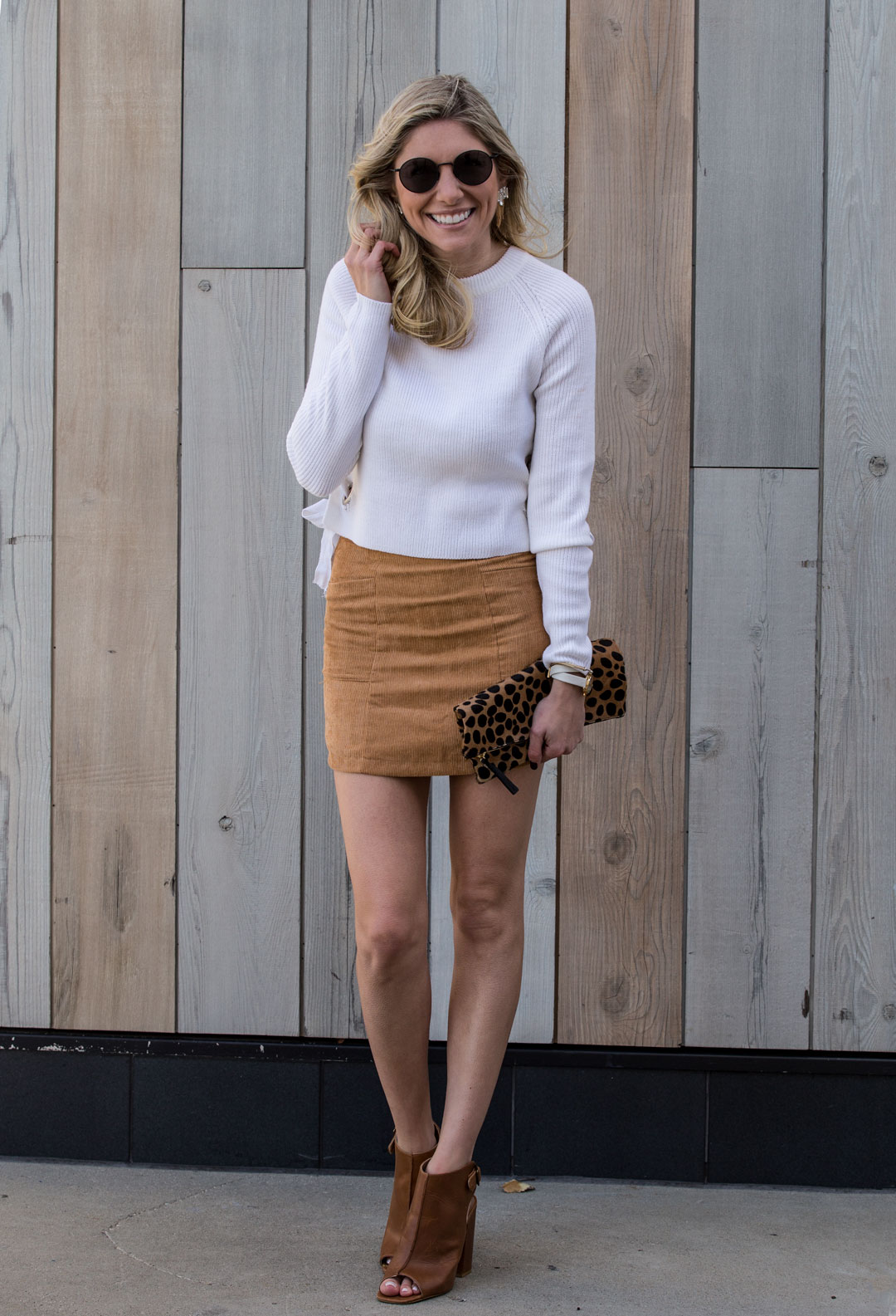 Shein Courderoy Skirt under $15