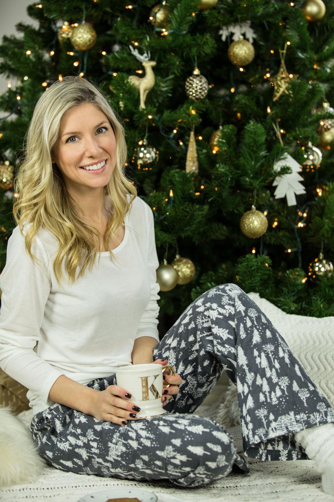 Christmas Home Decor and Pajamas
