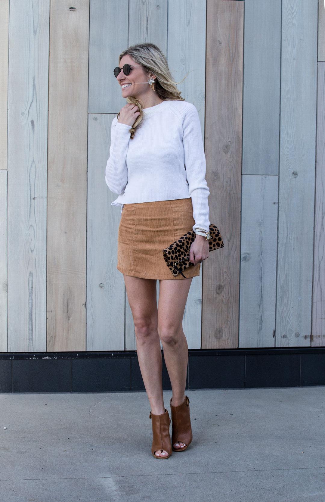 Shein Courderoy Skirt under $15