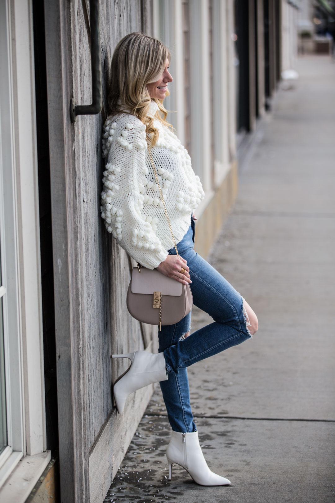 Chicwish Love Turtleneck Sweater under $75