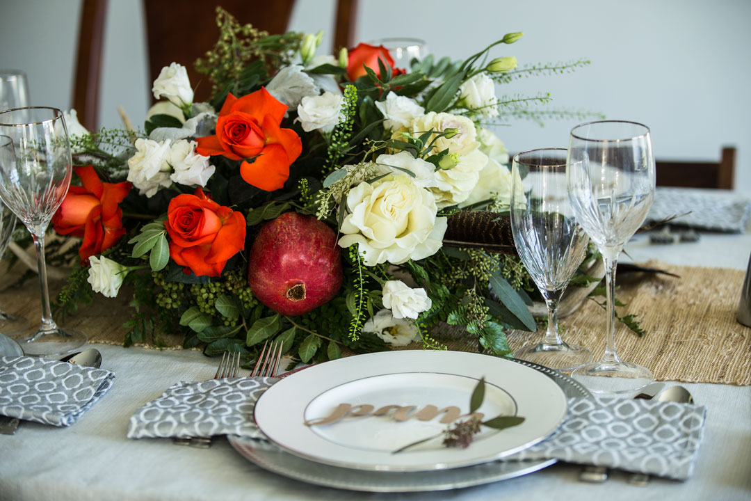 unique holiday table settings