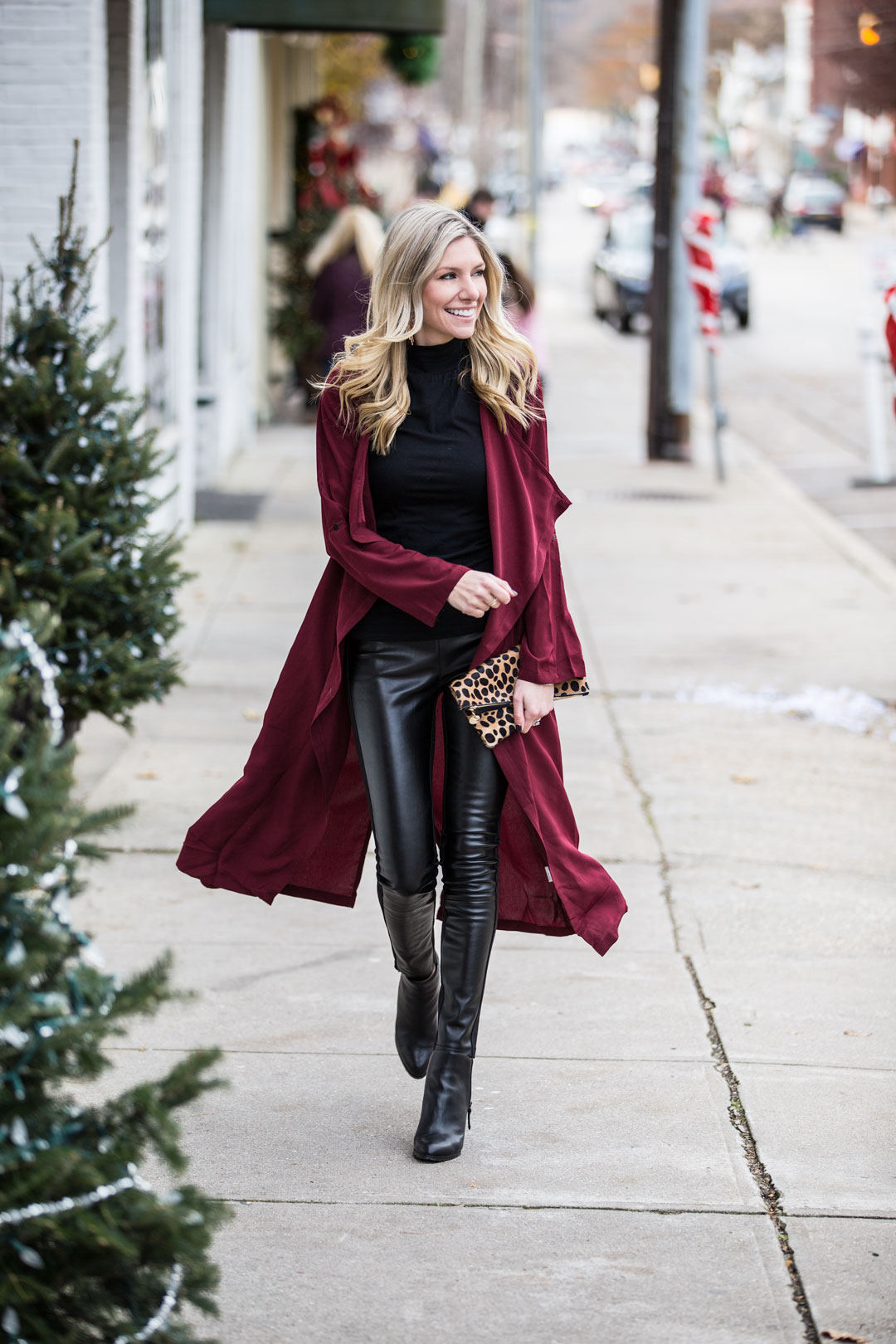 the perfect warm and cozy street style look for winter