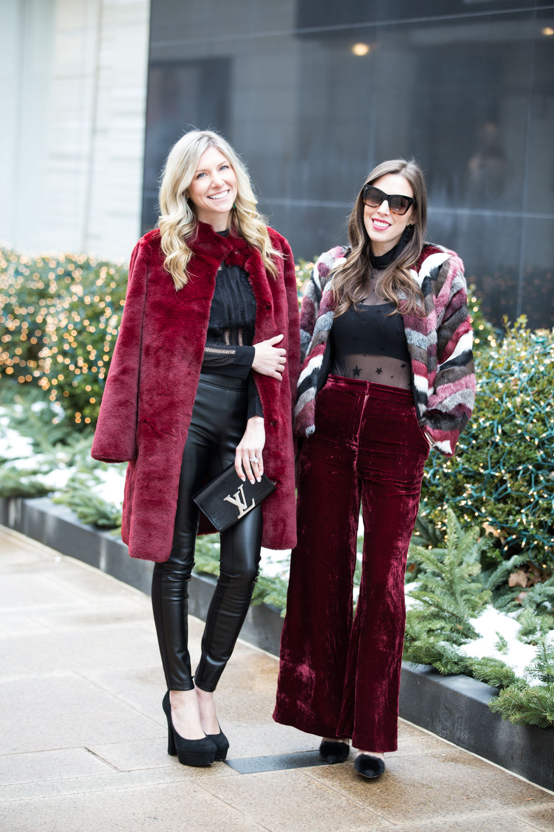 Red Velvet Pants Outfit Cheap Online