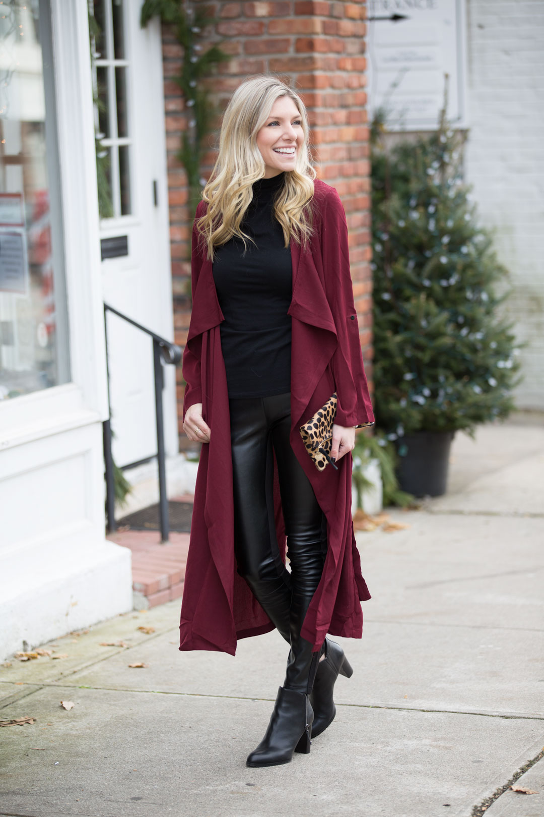 the perfect holiday brunch or lunch outfit