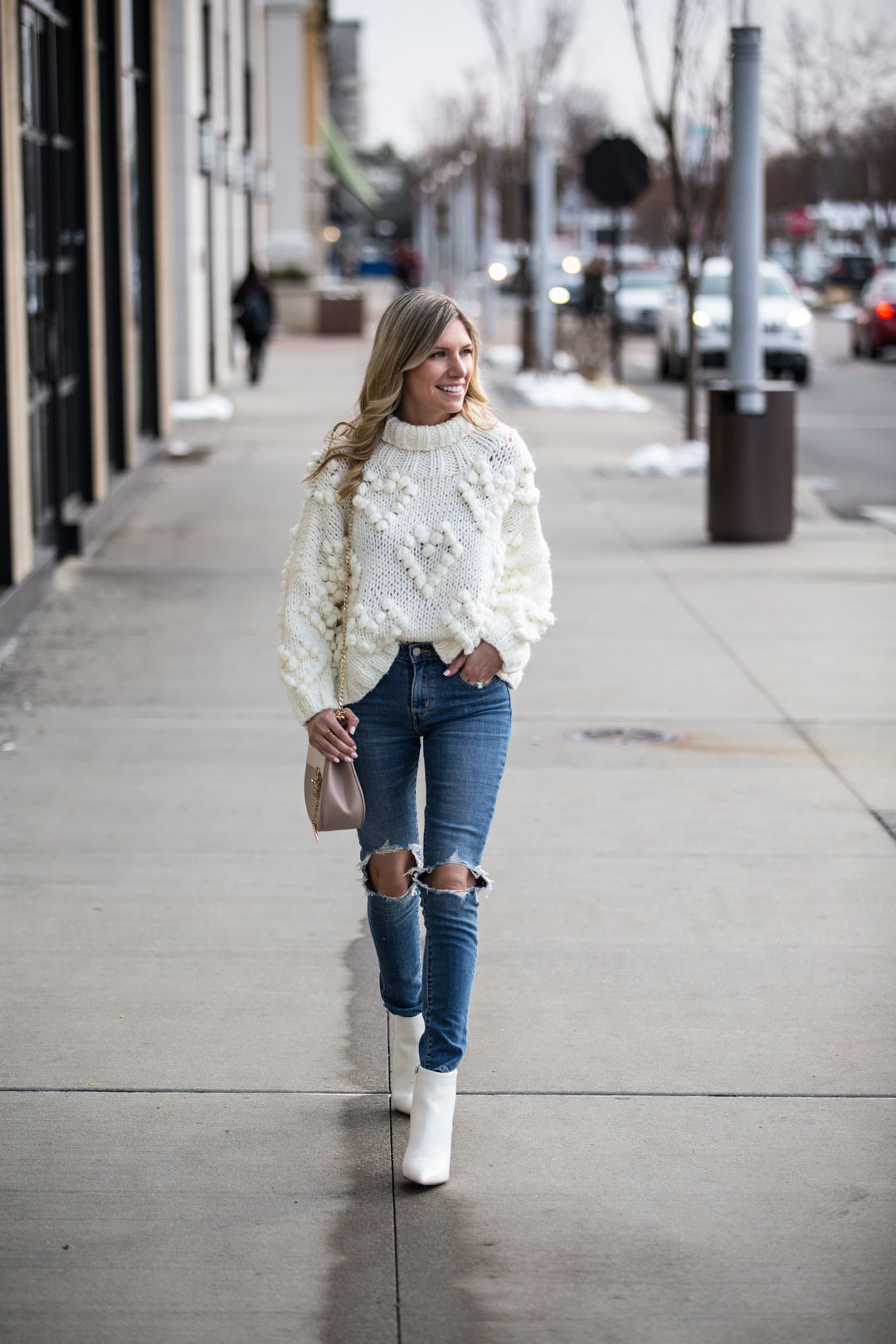 Chicwish Love Turtleneck Sweater under $75