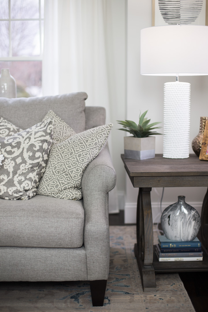 living room reveal with raymour amp flanigan the glamorous gal 53261