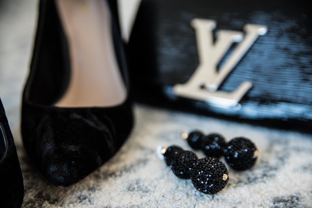 velvet and glitter accessories for winter