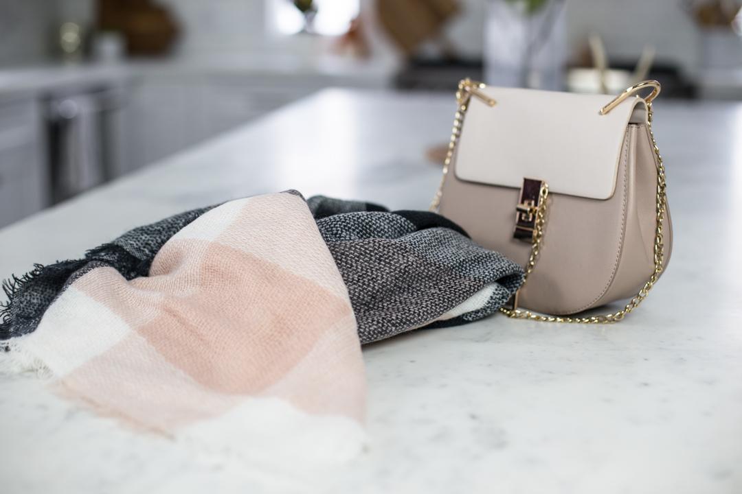 Blush Chloe Bag