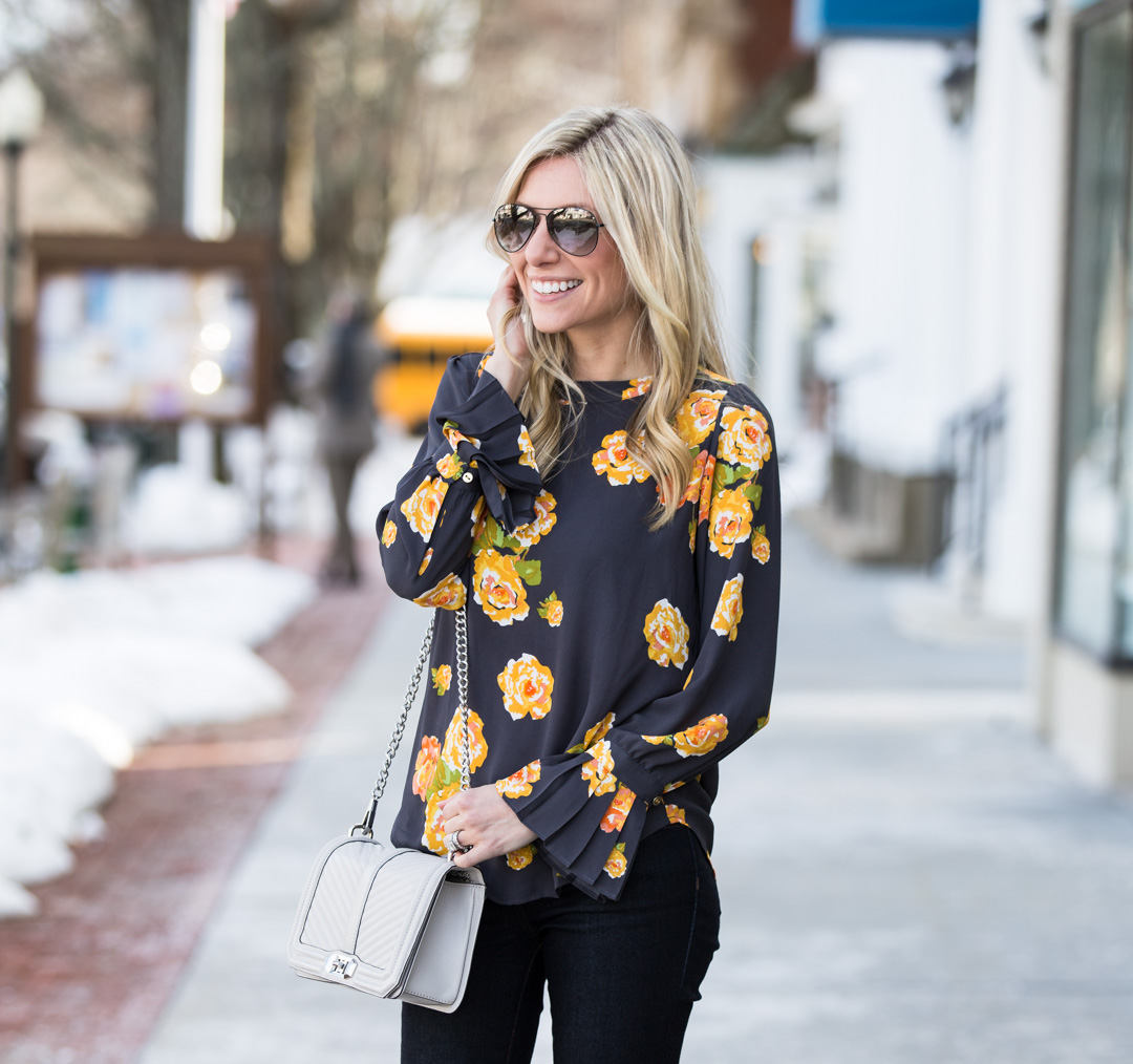 the perfect casual and chic look for spring