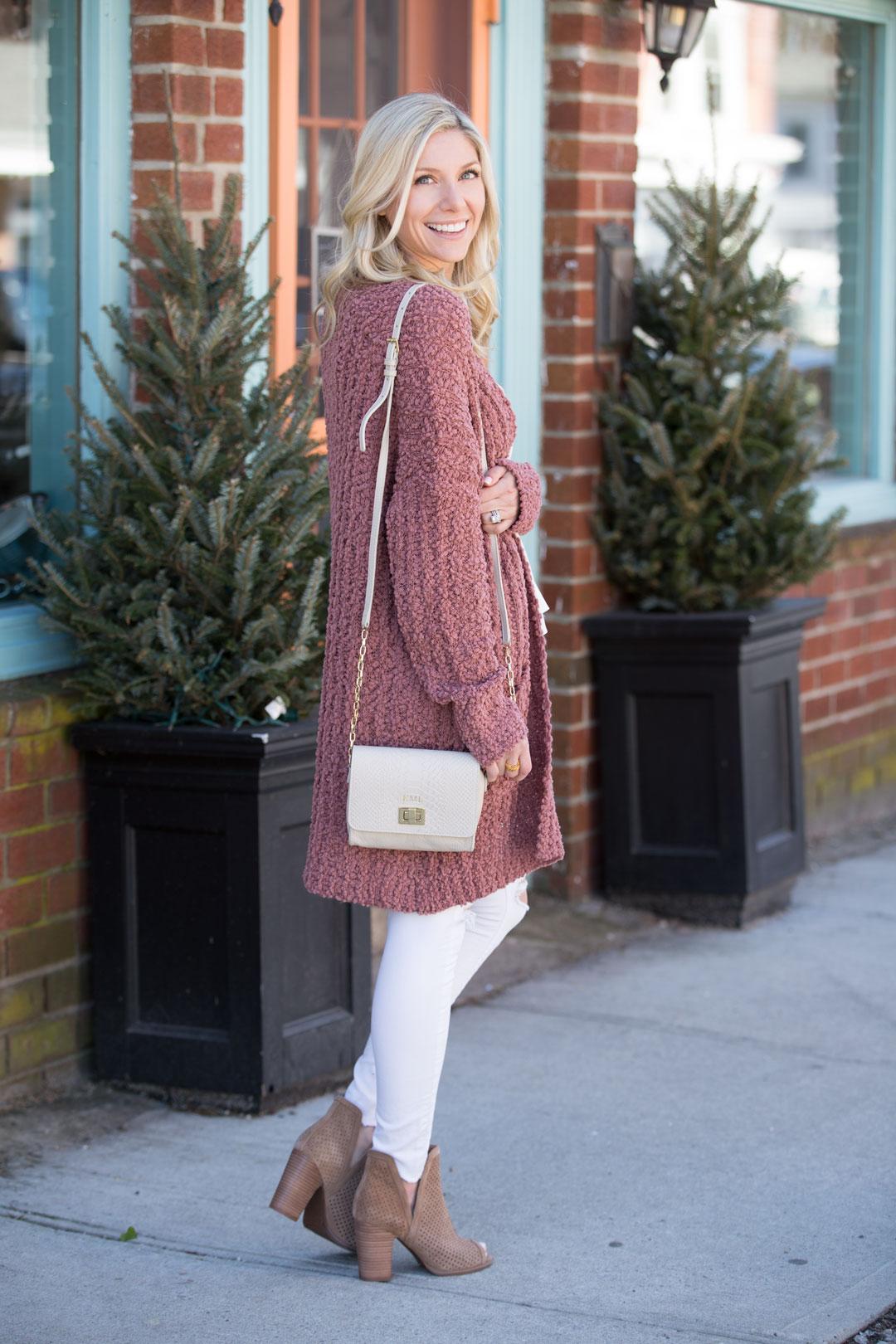 Red Dress Boutique Blush Cardigan