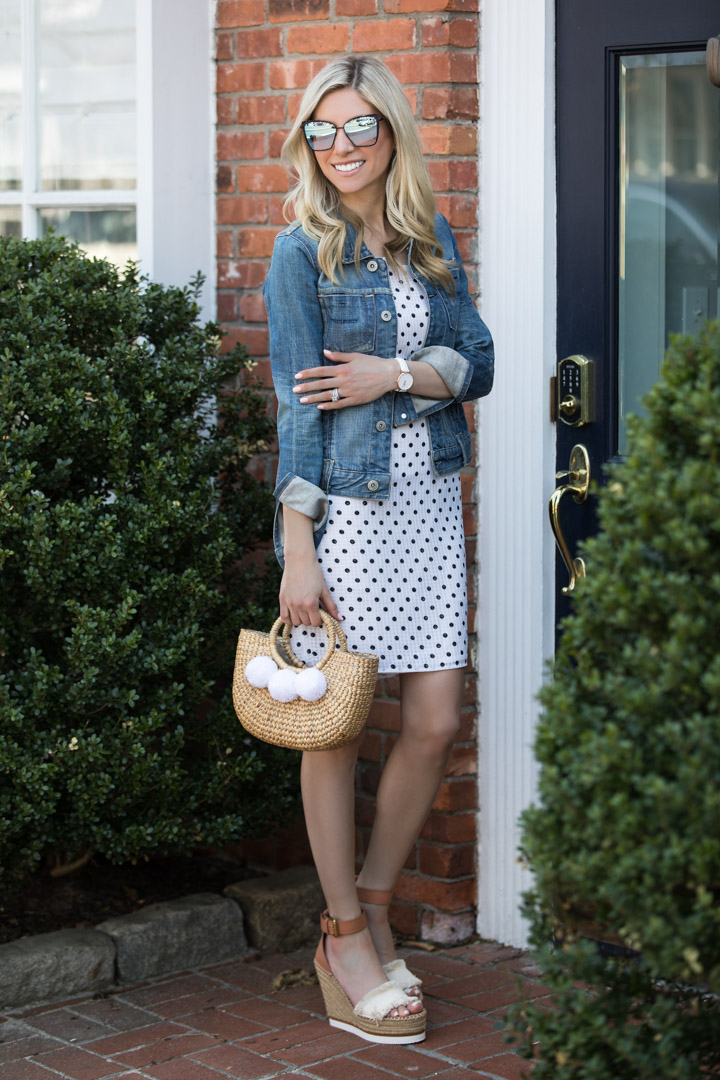 Shein Polka Dot Dress inder $35