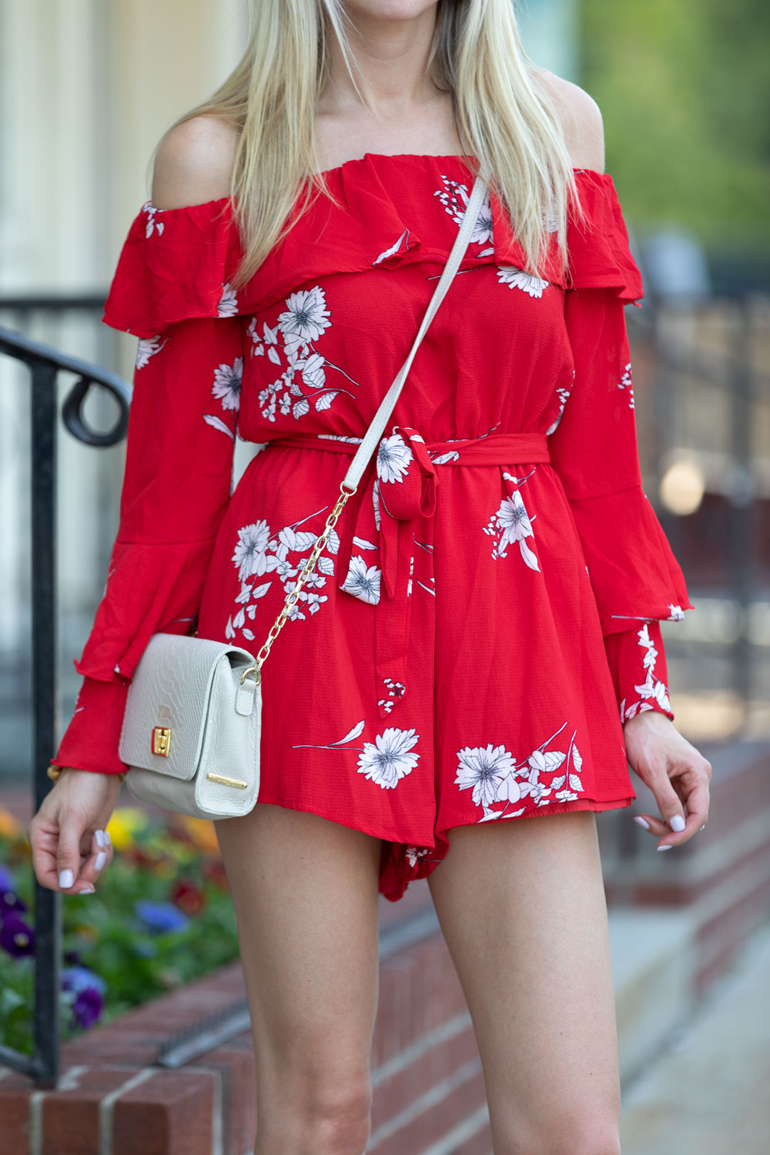 Chicwish Floral Romper