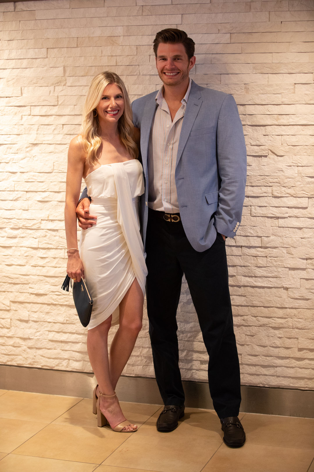 White Grecian Dress