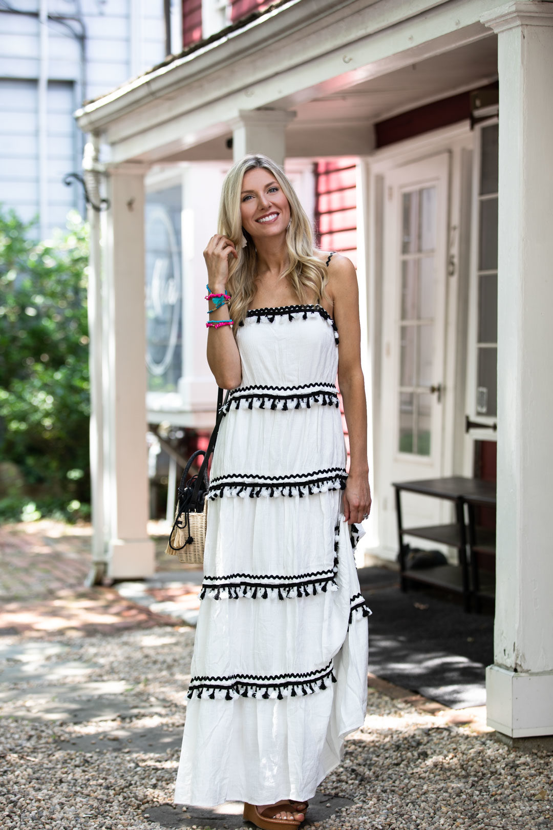 Red Dress Boutique Getaway to Greece White Maxi Dress