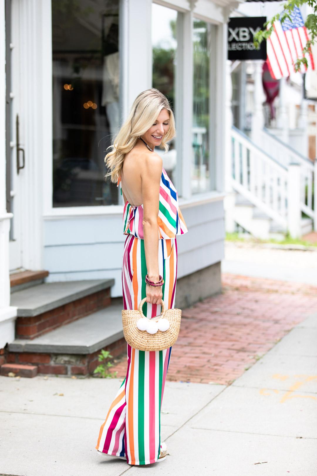 Red Dress Boutique Striped Jumpsuit