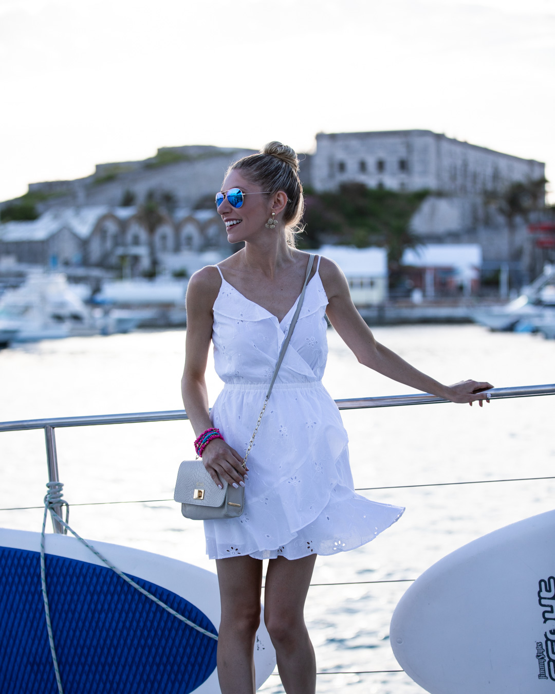 Bermuda Catamaran White Party