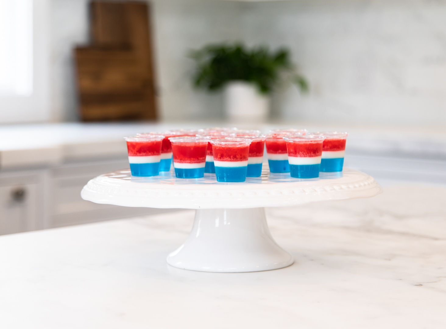 July 4th Jell-o Shot Recipe
