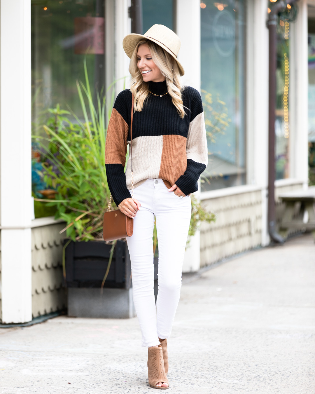 Fall Colorblock Sweater