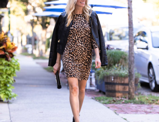 Pink Lily Boutique Leopard Dress